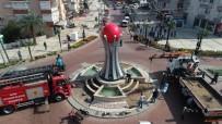 ATATÜRK - Salihli'ye Kızılelma Anıtı Dikildi
