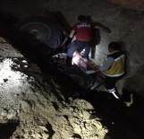 Traktör Devrildi Açıklaması 1 Ölü, 2 Yaralı