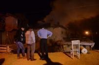 PAMUKKALE ÜNIVERSITESI - Yangından Kaçamayan 86 Yaşındaki Kadın Hayatını Kaybetti