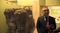 YıLMAZ ŞIMŞEK - 2800 Yıllık 'Çift Aslan' Heykeli Evine Kavuştu
