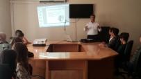 İŞ GÜVENLİĞİ - Adıyaman Belediyesinden Stajyer Öğrencilere İş Güvenliği Eğitimi