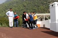 ÖLÜDENİZ - Babadağ'dan Atladı, Otelin Çatısına Düştü