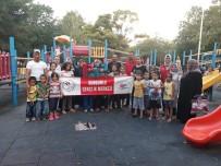 Çocuklar Aileleriyle Birlikte Spor Yaptı