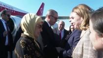 ESENBOĞA HAVALIMANı - Cumhurbaşkanı Erdoğan Moldova'ya Gitti