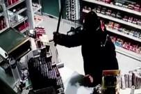 KıZıLPıNAR - Döner bıçaklı gaspçı kamerada
