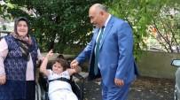 YAYA KALDIRIMI - Engellilerden Erol Şahin'e Tam Destek