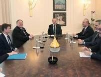 MOLDOVA - Erdoğan - Pompeo görüşmesi sona erdi