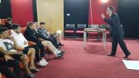 ESKIŞEHIRSPOR - Eskişehirspor Futbolcularına 'Motivasyon, Özgüven Ve Farkındalık' Eğitimi