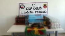 KAÇAK SİGARA - Iğdır'da Kaçakçılık Operasyonu