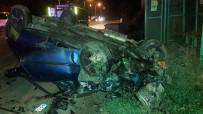 GÖKKAYA - İki Araç Birbirine Girdi 2'Si Çocuk 8 Yaralı