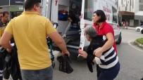 YAŞLI KADIN - İnegöl'de İki Otomobil Çarpıştı Açıklaması 2 Yaralı