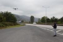 KURAL İHLALİ - Karadeniz Sahil Yolunda 'Drone' İle Trafik Denetimi