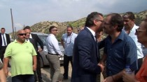 SAĞLıK BAKANı - KKTC Başbakanı Erhürman, Aplıç Sınır Kapısını Ziyaret Etti