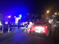 DİKKATSİZLİK - Kuşadası'nda Tütüncüler Kavşağında Yine Kaza, 1 Yaralı