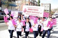 SAĞLIK ÖRGÜTÜ - Meme Kanseri Farkındalık Yürüyüşü Düzenlendi