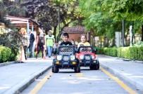 TRAFİK EĞİTİMİ - Miniklere Çocuk Trafik Eğitim Parkı'nda Eğlenceli Eğitim