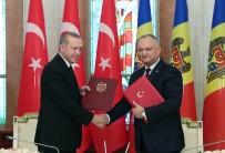 MOLDOVA - Moldova İle Türkiye Arasında Stratejik Ortaklık Açıklaması İmzalandı