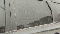 YAĞAN - Nizip'te Toz Bulutundan Araçlar Etkilendi