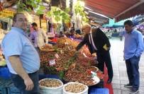 AKBAYıR - Pazarcılardan Bakan Albayrak'a Destek