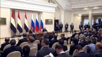 MISIR CUMHURBAŞKANI - Rusya İle Mısır Arasında 'Stratejik İş Birliği' Anlaşması
