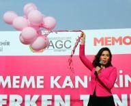 MEME KANSERİ - Şarkıcı Burcu Güneş'ten 'Pembe Konser'