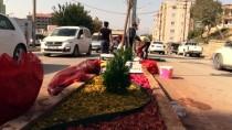 Şırnak'ta Refüjler Renklendi