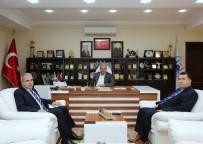 AHMET ÇELIK - Vergi Dairesi Başkanı Çelik'ten, Başkan Dişli'ye Ziyaret