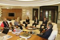 KAPADOKYA - AB Türkiye Delegasyonu Başkanı Büyükelçi Berger'den Rektör Bağlı'ya Ziyaret