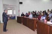 ALZHEIMER - ADÜ'lü Öğrencilerden Başkan Alıcık'a Ziyaret