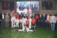 HALKLA İLIŞKILER - Amatör Spor Haftası'nda Başkan Tuna'ya Ödül