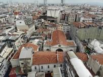 ERMENI - Ara Güler'in Cenaze Töreninin Yapılacağı Kilise Havadan Görüntülendi