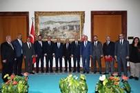 ADEM ALI YıLMAZ - ATO'dan TBMM Başkanı Yıldırım'a Ziyaret