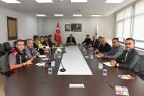 KERVAN - Başkan Dursun Ay Birim Müdürleri İle Görüştü