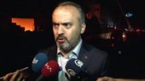 İBRAHIM BURKAY - Bursa'daki Fabrika Yangınına 50 İtfaiye Aracı İle 150 İtfaiyeci Müdahale Ediyor