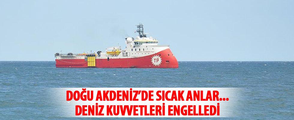 Doğu Akdeniz'de Türk gemisine taciz