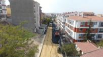 ODUNPAZARI - Göztepe'de Yol Yapım Ve Onarım Çalışmaları