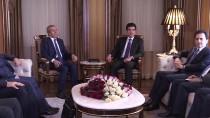 NEÇİRVAN BARZANİ - IKBY Başbakanı Barzani Türk Heyeti İle Görüştü