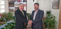 MURAT DURU - Kaymakam Duru'dan AK Parti İlçe Başkanı Turan'a İade-İ Ziyaret