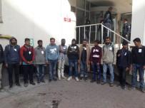 KAÇAK GÖÇMEN - Kayseri'de 152 Kaçak Göçmen Yakalandı