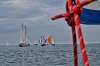 BODRUM BELEDİYESİ - Marmara Ve Akdeniz'i Aşan Yelkenlilerin Kıyasıya Mücadelesi Devam Ediyor