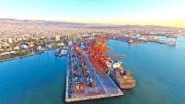 İŞLETIM SISTEMI - Mersin Limanı Türkiye'nin En Büyük Konteyner Limanı Oldu