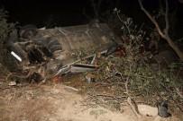 NEMRUT - Nemrut Dağı'ndan Dönen Turist Kafilesi Kaza Yaptı Açıklaması 16 Yaralı