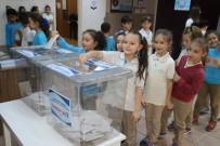MECLİS BAŞKANLIĞI - Öğrencilerin Okul Meclis Başkanlığı Seçimi Genel Seçim Havasında Oldu
