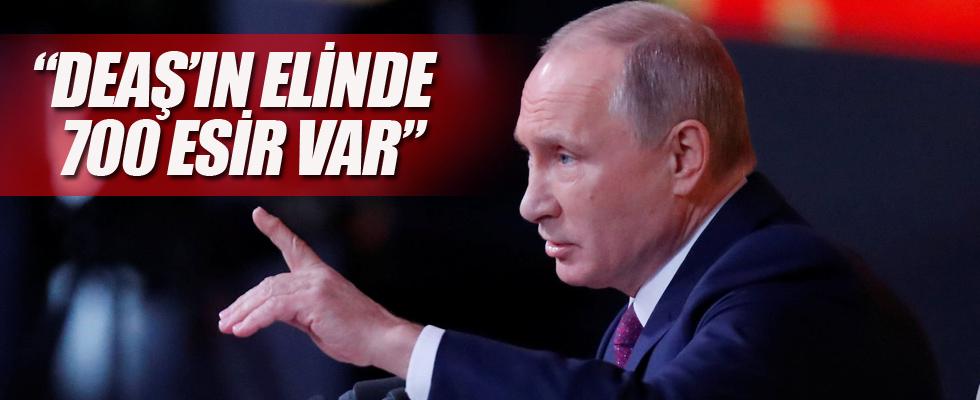 Putin: DEAŞ'ın elinde 700 esir var
