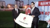 TÜRKIYE FUTBOL FEDERASYONU - TFFHGD Yönetimi Siirt'te Toplandı