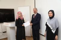 SIĞINMACI - Türkçe Öğrenen Suriyeli Öğretmenler Sertifikalarını Aldı