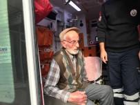 Yaşlı Adam Alevlerin İçerisinden Kurtarıldı