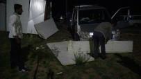 Yoldan Çıkan Araç Mesire Alanına Daldı