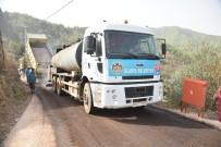 ÇAMLıCA - Alanya Belediyesi Çamlıca'da 7 Kilometre Asfalt Yapıyor