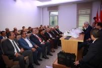 EMRULLAH İŞLER - Ankaralılar Meclis'te Ankara Milletvekillerini Ziyaret Etti